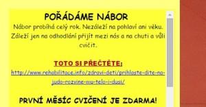 Odkaz na webu litvinovskejudo.cz